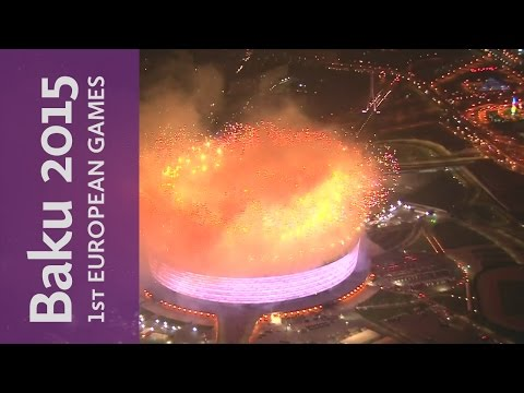 Full Replay Games Review & Closing Ceremony   Baku 2015 European Games