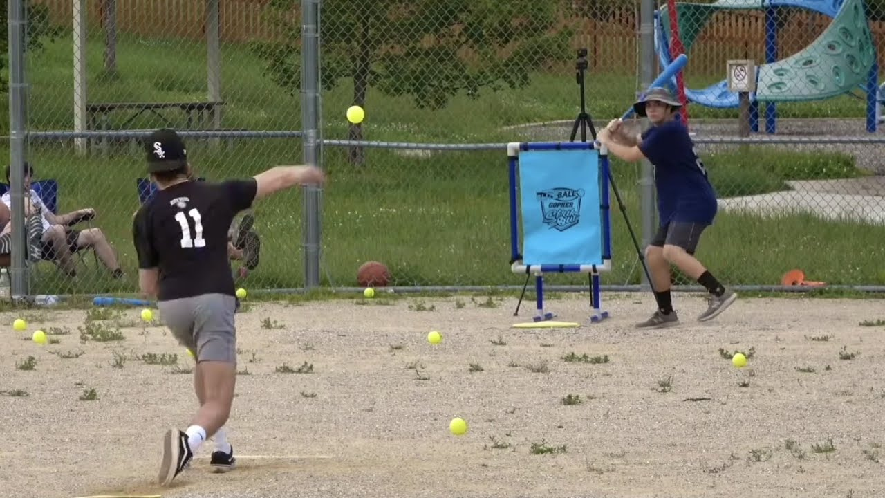 FIRST CAREER HOME RUN... | Steamrollers vs Bomb Squad Blitzball 2021