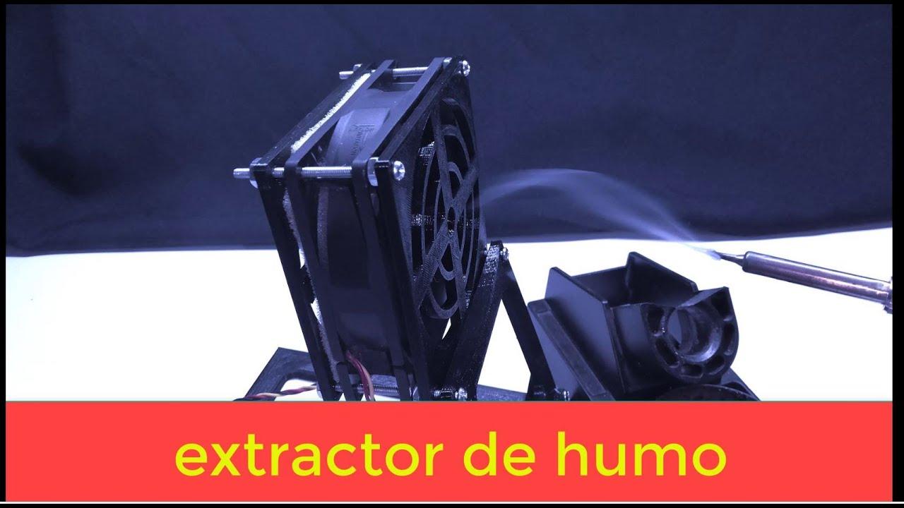Diseño Y Construcción De Un Extractor De Humo Para Cautín Youtube