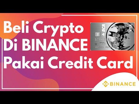 Cara Beli Crypto di BINANCE dengan Kartu Kredit