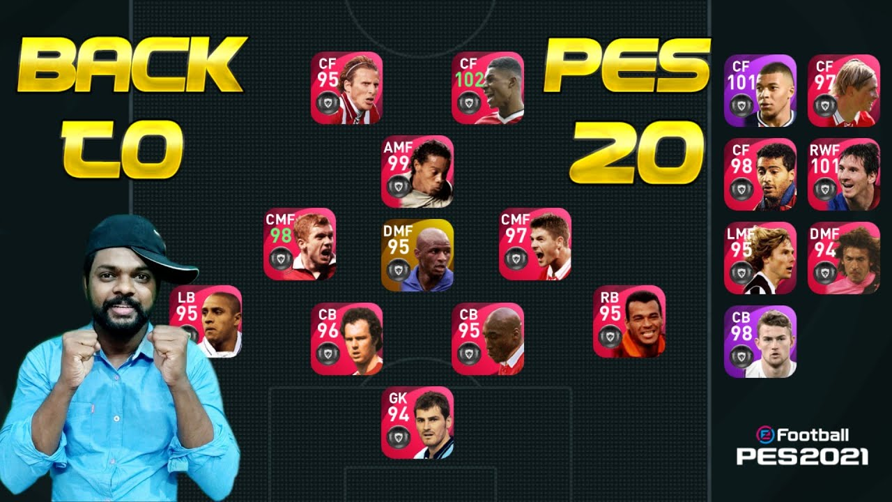 Switched to 4312| Back to Pes 20| DG