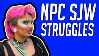 CLASSIC SJW NPC SPEWS OUT TALKING POINTS SJW FAILS AND CRINGE #82