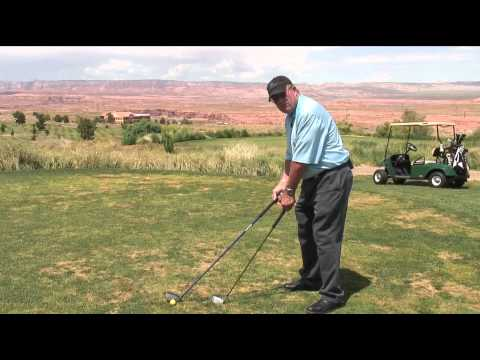 Proper Golf Grip & Arm Position to Improve Your Golf Swing : Golf Lessons