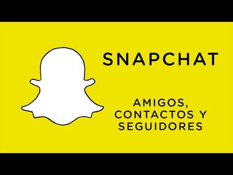 Cómo funciona Snapchat | Agregar amigos, contactos y seguidores