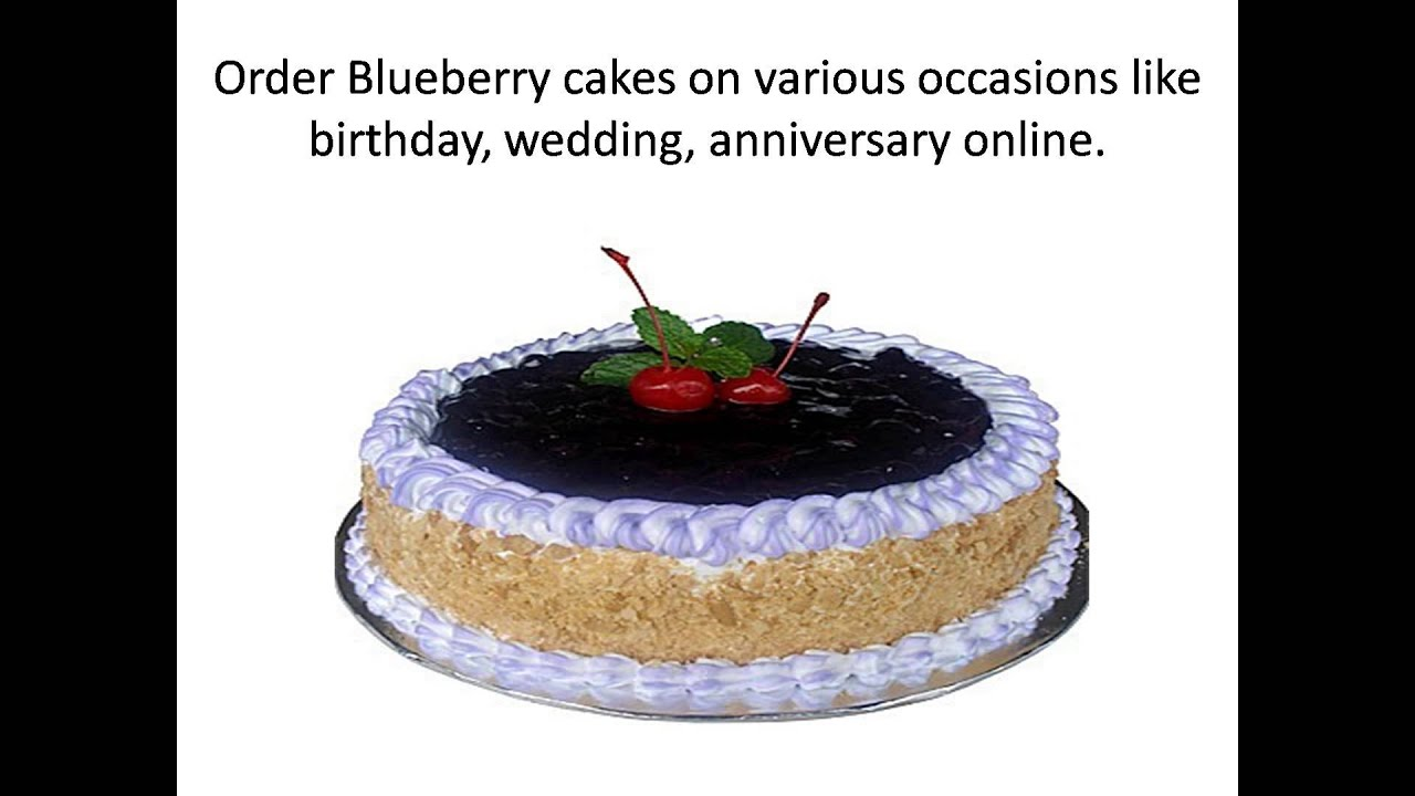 Blueberry Cake - YouTube