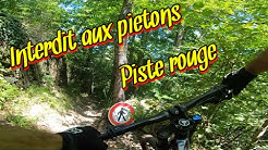 [VTT DH] Piste rouge , Bike park Ax 3 domaines Giant Glory 2