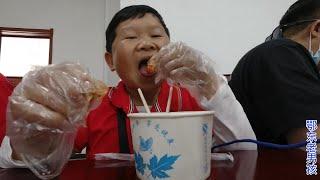 老男孩去黄梅,终于知道小龙虾是怎么加工成熟食的,又来一顿美餐