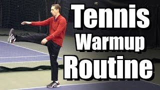 Perfect Tennis Warmup Routine