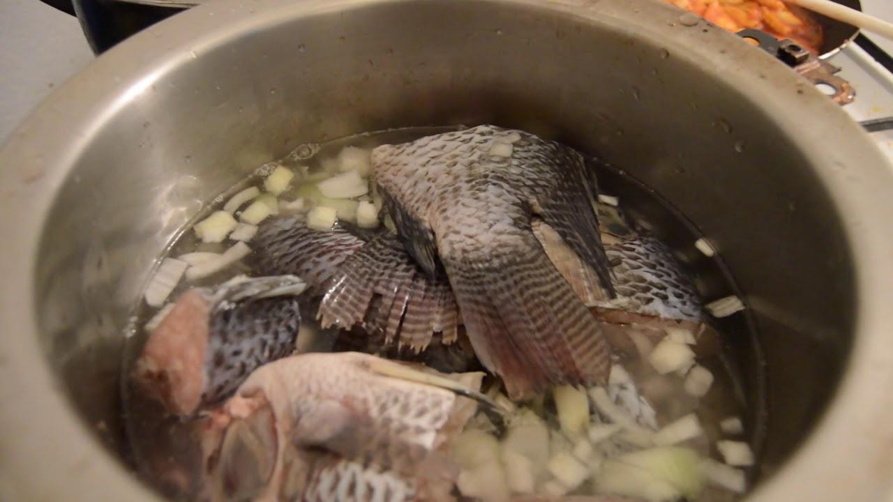 Cuisine Soupe De Poisson Pimente Avec Du Riz Recette Ivoirienne