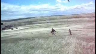 lakota Warriors Prevent Blackhawk Helicopters from landing at Wounded Knee 5-1-2012