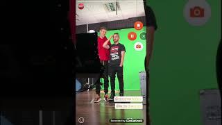 Истории из Инстаграма канал ТНТ. Антон Шастун и Сергей Матвиенко3