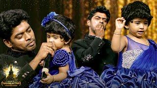 Sandy & Lala's Verithanam Dance On Stage! Crazy Response From Crowd! Galatta Nakshatra Awards 2019