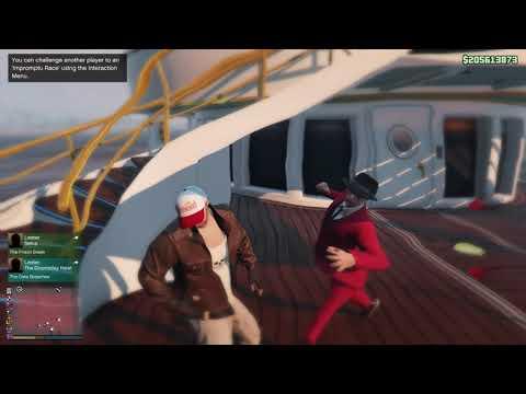 GTA V Online - Visit OliverSky Yatch !