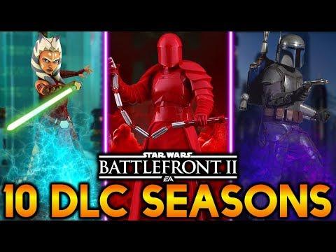 10 POTENTIAL DLC SEASONS! Star Wars Battlefront 2