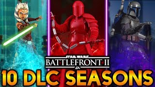 10 POTENTIAL DLC SEASONS! Star Wars Battlefront 2