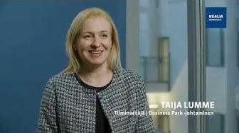 Asiantuntijat kertovat: Taija Lumme: Business Park -johtaminen