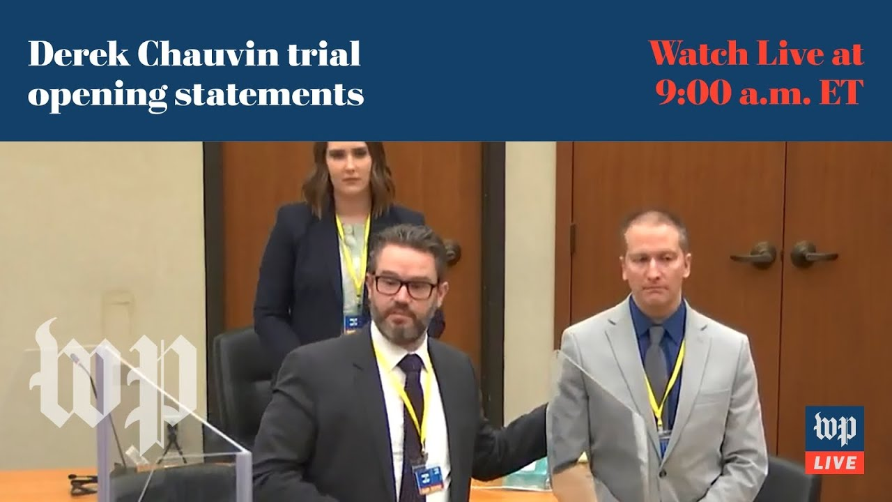 Derek Chauvin trial begins with opening statements and first witnesses - 3/29 (FULL LIVE STREAM)