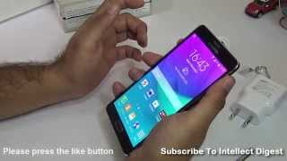 Samsung Galaxy Note 4 Unboxing Video- India Retail Unit With Snapdragon 805