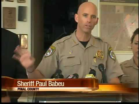 Arizona Immigration - Pinal County Sheriff asks Obama for troops.flv