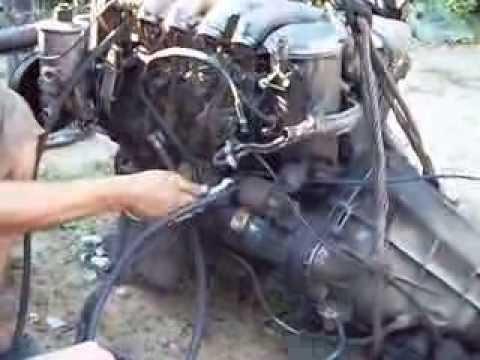 ремонт мерседес 601 двигатель
