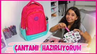 Okul Çantam ve Kalemliğimde Ne Var ? - Eğlenceli Video