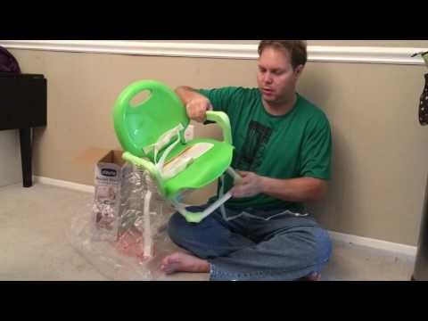 Chicco Pocket Snack Portable Booster Seat Unboxing
