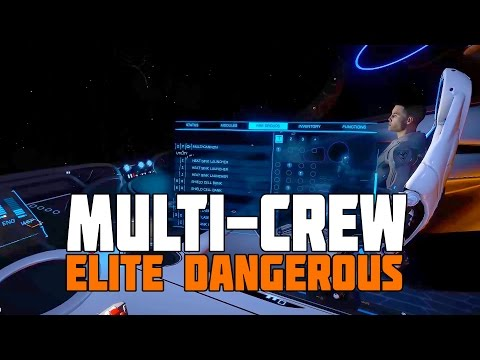 Elite Dangerous - Multi Crew Bounty Hunting Session - Patch 2.3