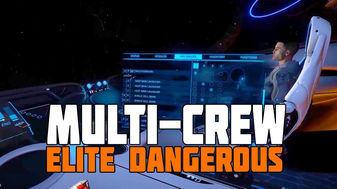 Elite Dangerous - Multi Crew Bounty Hunting Session ...