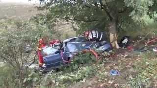 Grav accident de circulatie petrecut pe DN 15 D intre Horia si Trifesti, soldat  cu 4 victime