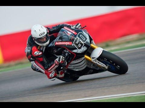Michael van der Mark - Honda WSBK Aragon test