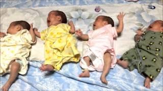 【おもしろ】我が家のよつごの赤ちゃん~大合唱!~【かわいい】 thumbnail