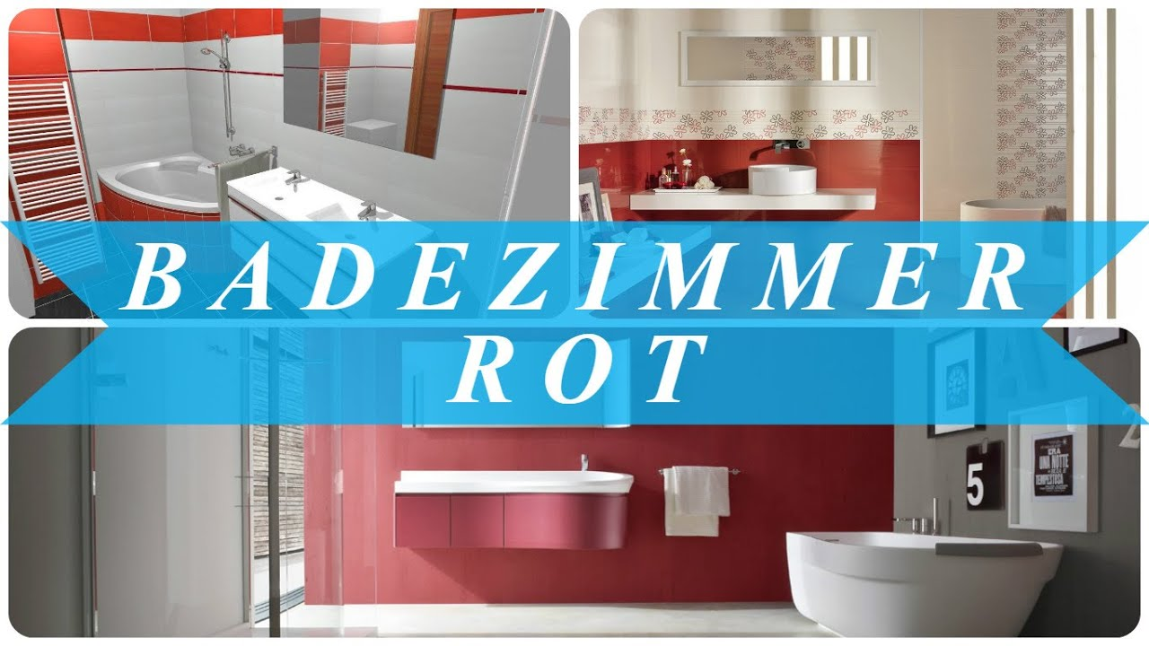 Bad Deko Weinrot Badezimmer Fliesen Rot Air Media Design