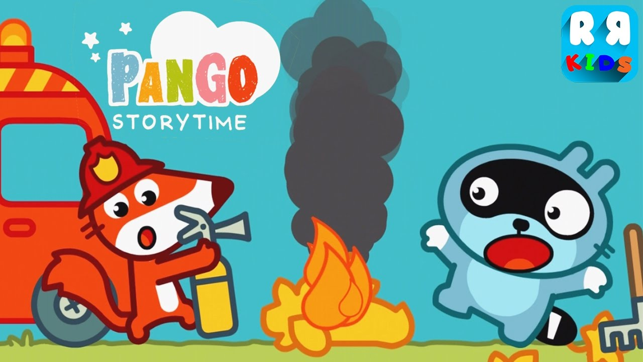 Pango Storytime Fox Firefighter Best Story For Kids