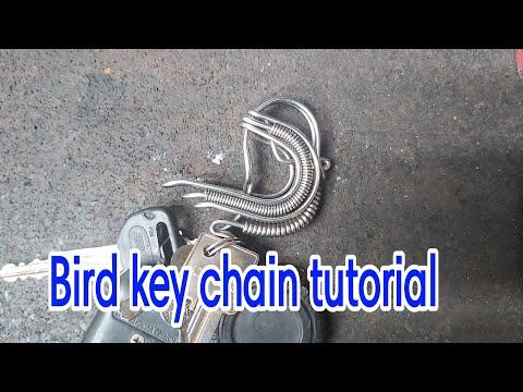 Made A Bird Key Chain..