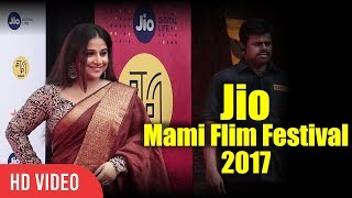 Vidya Balan At Jio Mami Film Festival 2017 | 19th Mami Film Festival