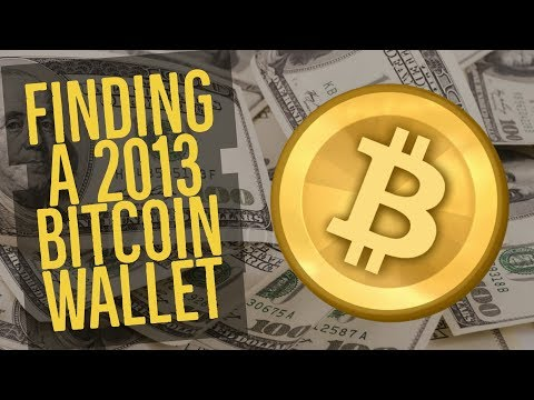 Finding An Old Bitcoin Wallet - Am I A Bitcoin Millionaire?