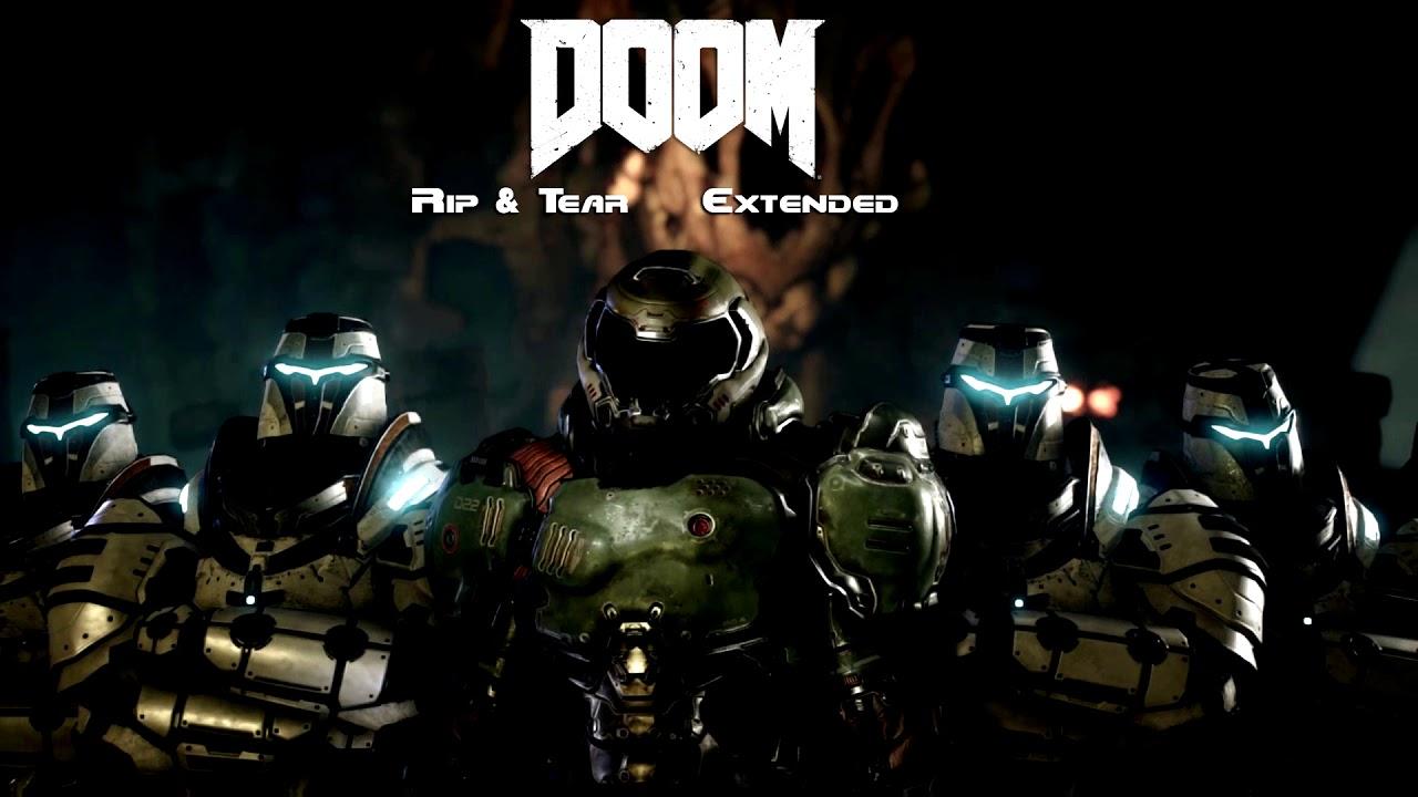 DOOM (2016) OST — Rip & Tear (Extended)