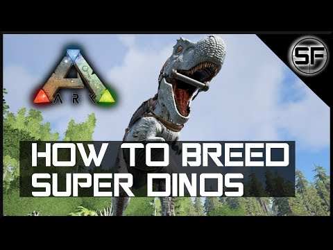 HOW TO BREED SUPER DINOS IN ARK - Everything you Need to Know about Dino Stats (Part 1)