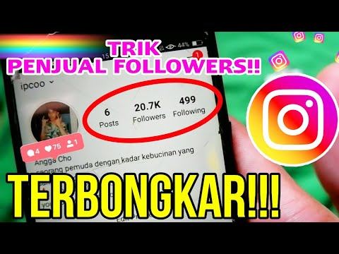 CARA MENAMBAH FOLLOWERS INSTAGRAM 20K