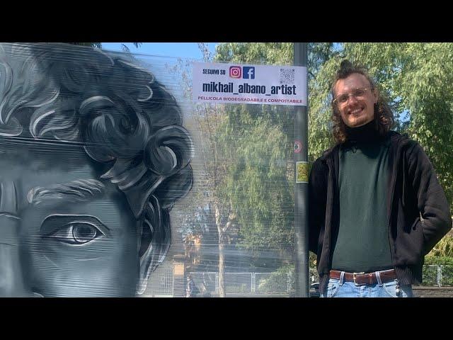 La street-art bio-compatibile di Mikhail Albano