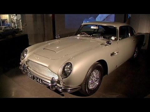 Movie motor greats line up in 'Bond in Motion' exhibition