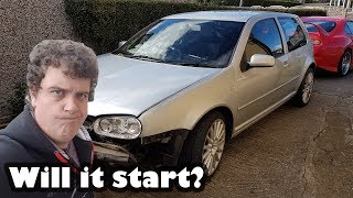 Replacing the PD130 Injector Loom - Will it start? - Project Shed Volkswagen Golf