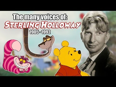 Many Voices of Sterling Holloway Animated Tribute  Winnie the Pooh