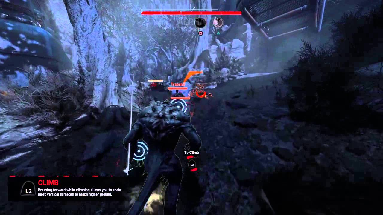 Evolve ps4 alpha monster gameplay - YouTube