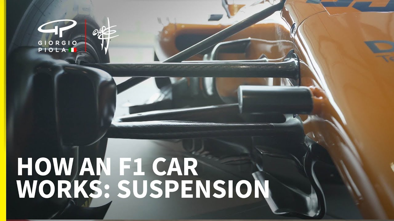 How a Formula 1 car works: Episode 5 - Suspension