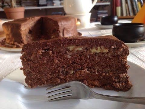 German Chocolate Cake ~ Live Bakery