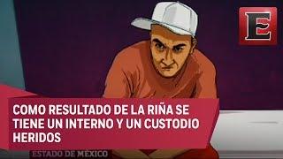 "Gambar cover Reos del penal de Chiconautla intentan asesinar a ""El Tatos"""