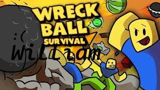 Roblox Svenska [Wreck Ball Survival] LIVESTREAM!