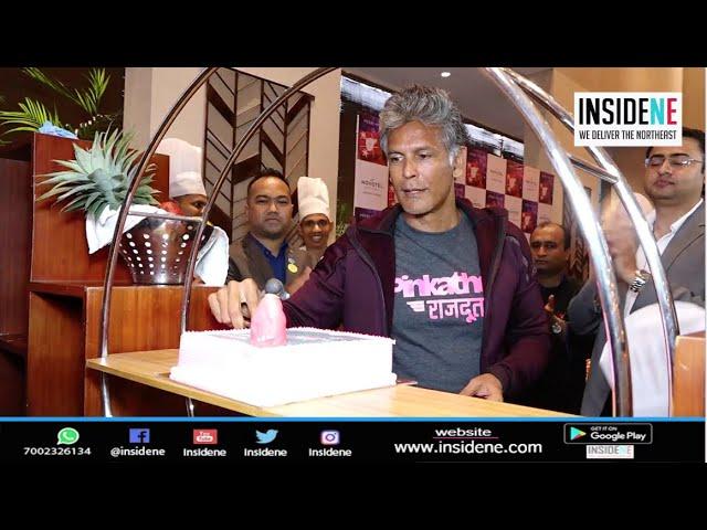 Milind Soman | Christmas Cake Mixing | NOVOTEL Guwahati