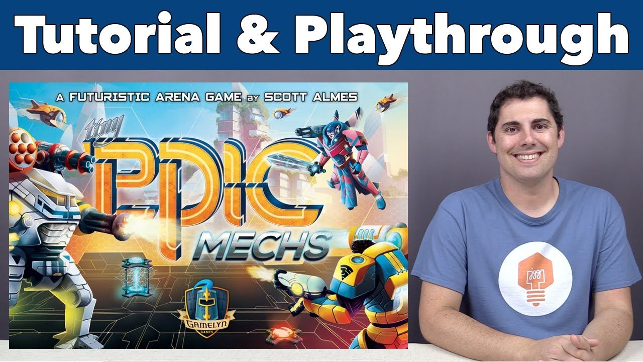 Tiny Epic Mechs - Mechanized Entertainment Combat Heroes by Gamelyn